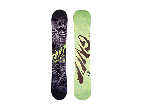Gnu - Metal Gnuru'14 162 (N/A) Snowboards Sports Equipment