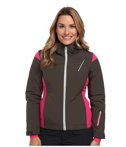 Spyder - Prevail Jacket (Osetra/Girlfriend/White) Women