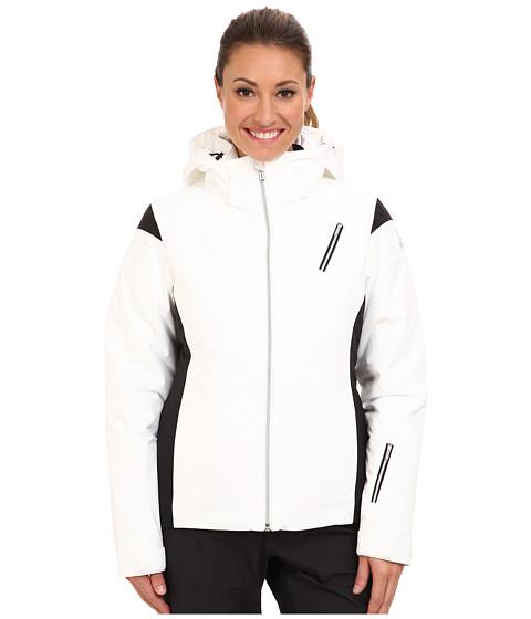 Spyder - Prevail Jacket (White/Black/Silver) Women's Jacket