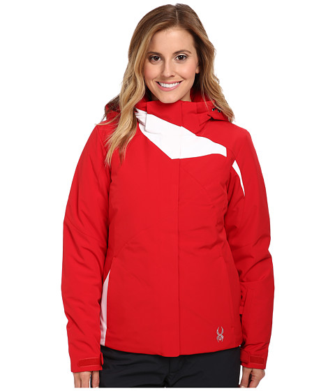 Spyder - Amp Jacket (Vampire/White) Women's Coat