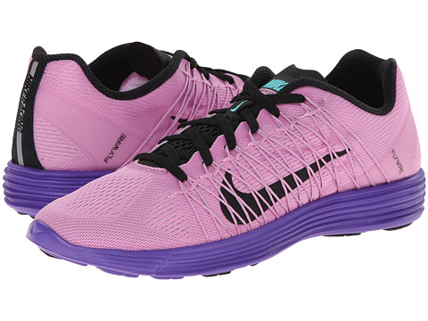 Nike - Lunaracer+ 3 (Light Magenta/Hyper Grape/Hyper Jade/Black) Women