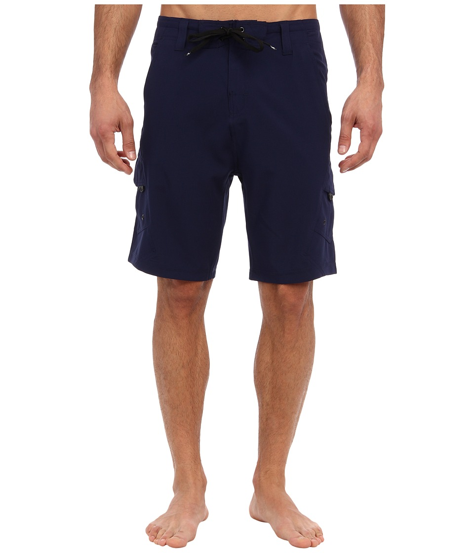 Body Glove - Amphibious VaporSkin Boardshort (Indigo) Men's Swimwear