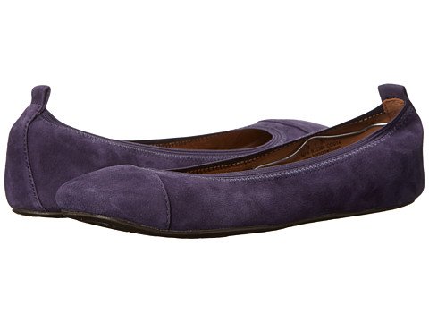Born - Alyce - Crown Collection (Blue Suede) Women's Flat Shoes