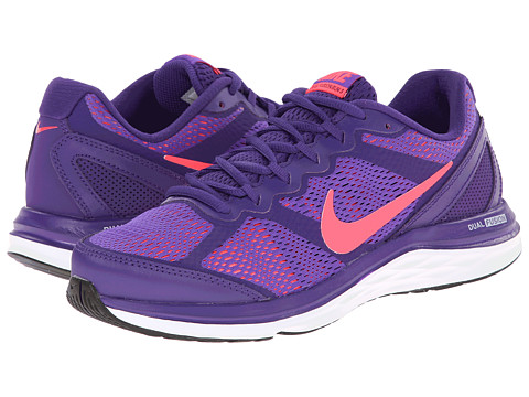 Nike - Dual Fusion Run 3 (Court Purple/Hyper Grape/White/Hyper Punch) Women's Running Shoes