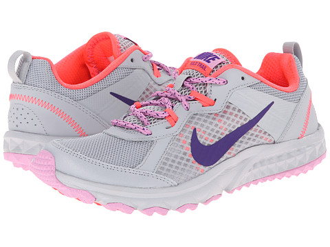 Nike - Wild Trail (Wolf Grey/Light Magenta/Hyper Punch/Court Purple) Women's Running Shoes