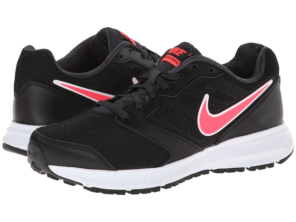 Nike - Downshifter 6 (Black/Anthracite/Hyper Punch) Women's Running Shoes