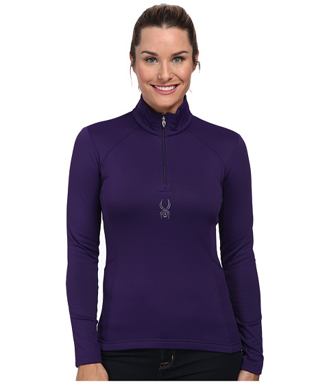 Spyder - Savona Therma Stretch T-Neck Top (Regal) Women's Long Sleeve Pullover