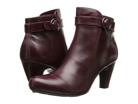 Born - Lunna - Crown Collection (Burgundy Box Calf) Women's Boots