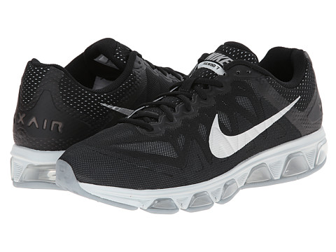 Nike - Air Max Tailwind 7 (Black/Pure Platinum/Dark Magnet Grey/Metallic Silver) Men's Running Shoes