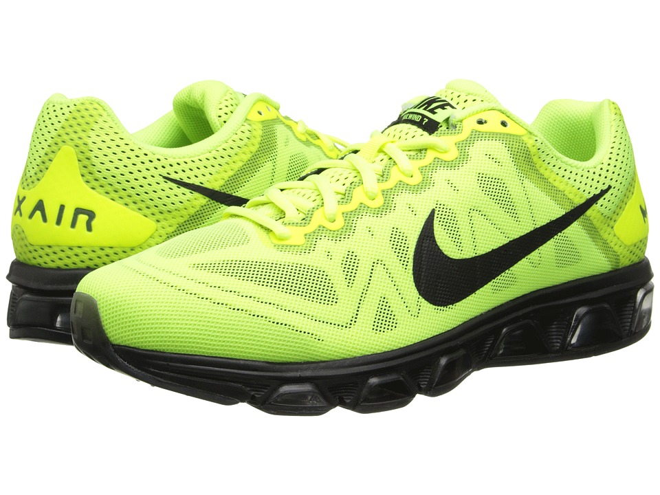 Nike - Air Max Tailwind 7 (Volt/Pure Platinum/Electric Green/Black) Men's Running Shoes