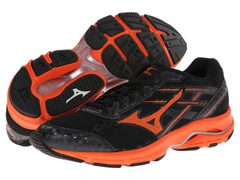 Mizuno - Wave Unite 2 (Black/Orange) Men