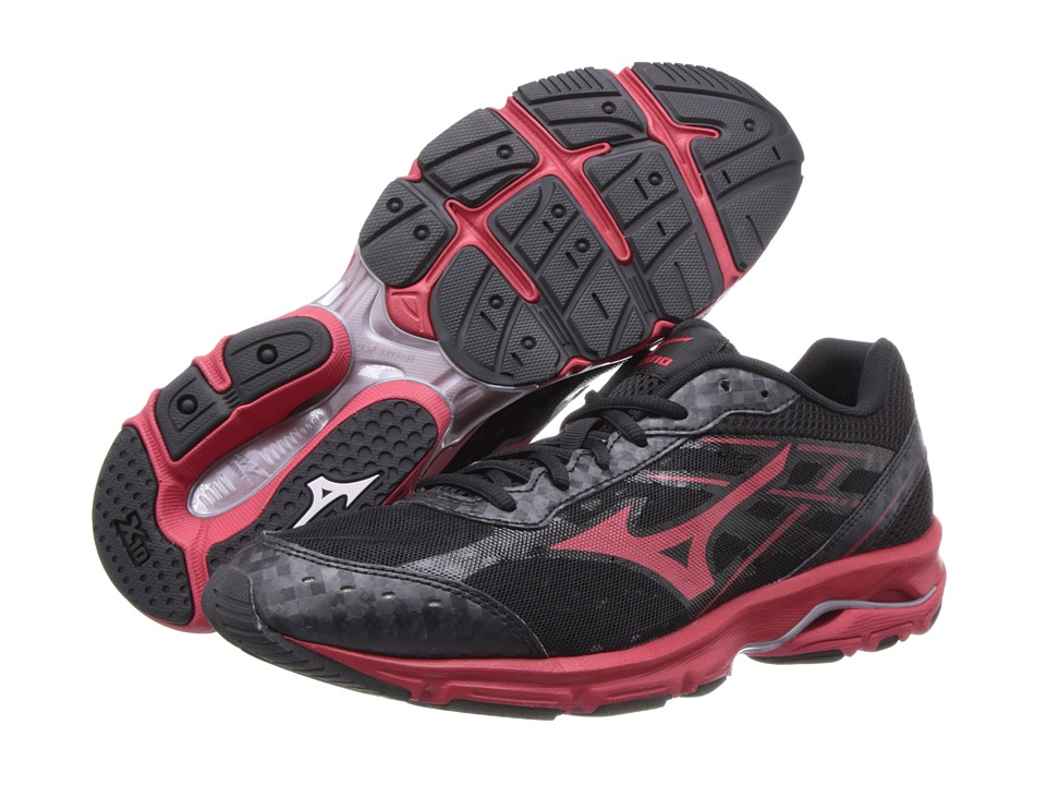 Mizuno - Wave Unite 2 (Black/Red) Men's Cross Training Shoes