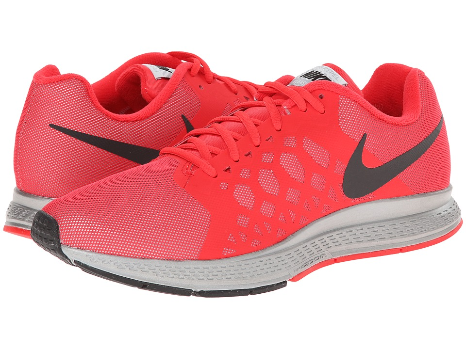 Nike - Zoom Pegasus 31 Flash (Reflective Silver/Action Red/Black) Men