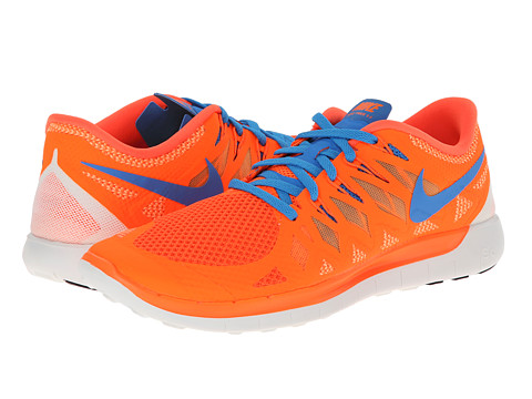 Nike - Nike Free 5.0 '14 (Hyper Crimson/Bright Citrus/Summit White/Photo Blue) Men's Running Shoes