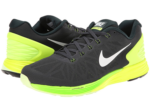 Nike - LunarGlide 6 (Seaweed/Volt/Electric Green/White) Men