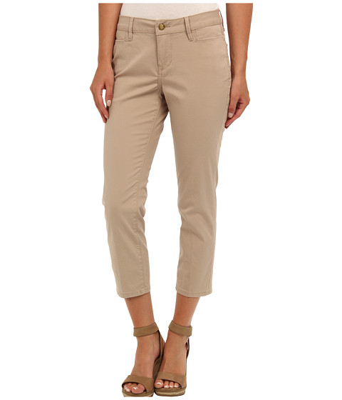 Christopher Blue - Reese Crop Island Twill (British Khaki) Women