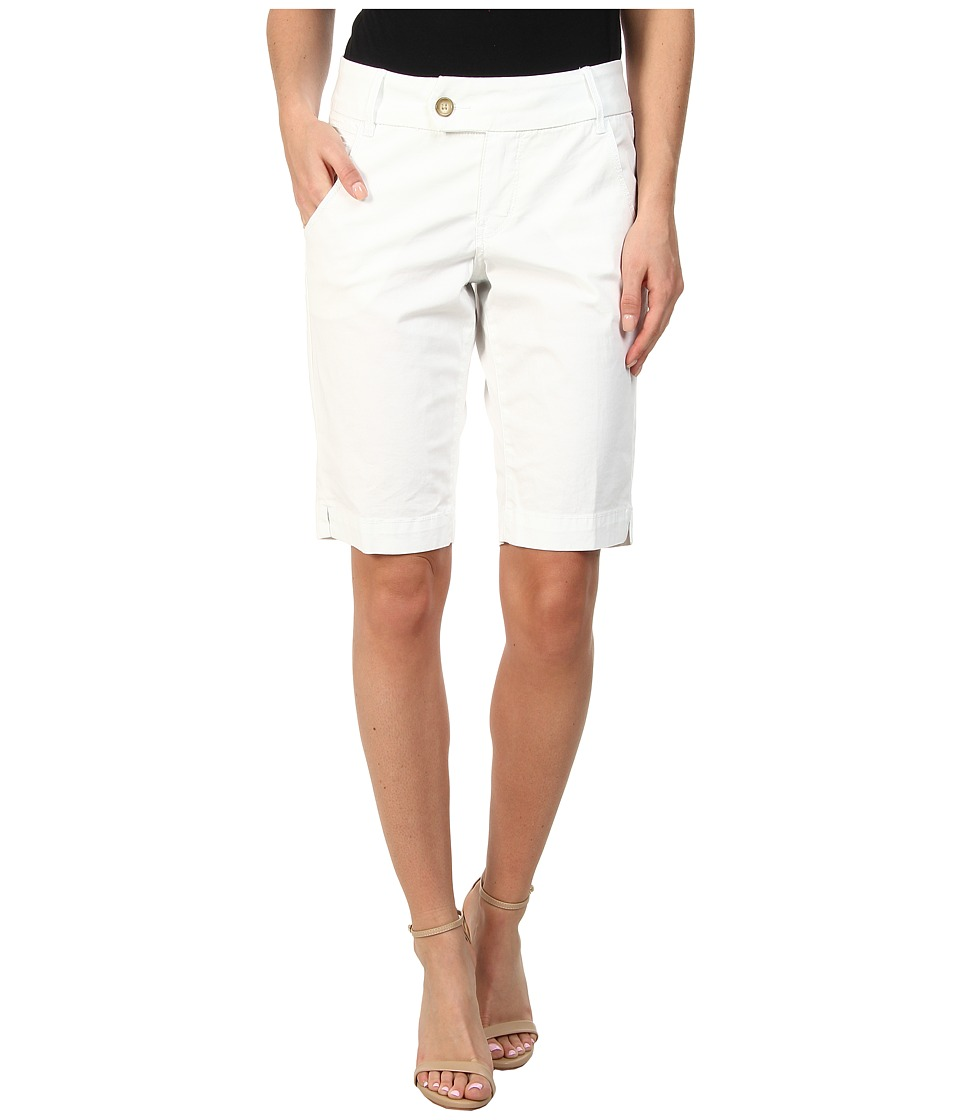 Christopher Blue - Trina Bermuda Island Twill (White) Women's Shorts