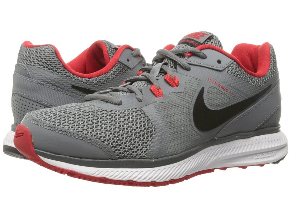 Nike - Zoom Winflo (Cool Grey/University Red/White/Black) Men's Running Shoes