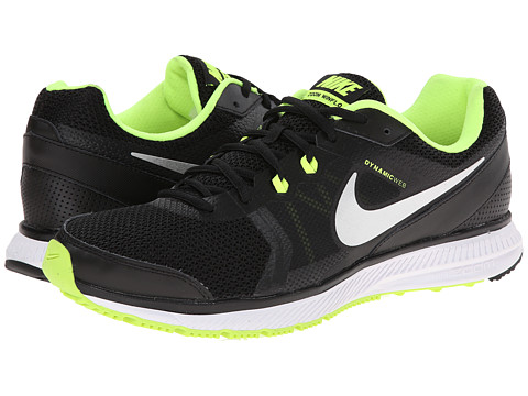 Nike - Zoom Winflo (Black/Volt/Dark Grey/Metallic Silver) Men's Running Shoes