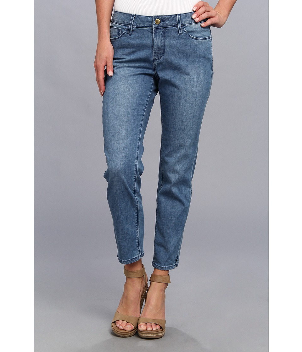 Christopher Blue - Joan Long Crop in Medium Indigo (Medium Indigo) Women's Jeans