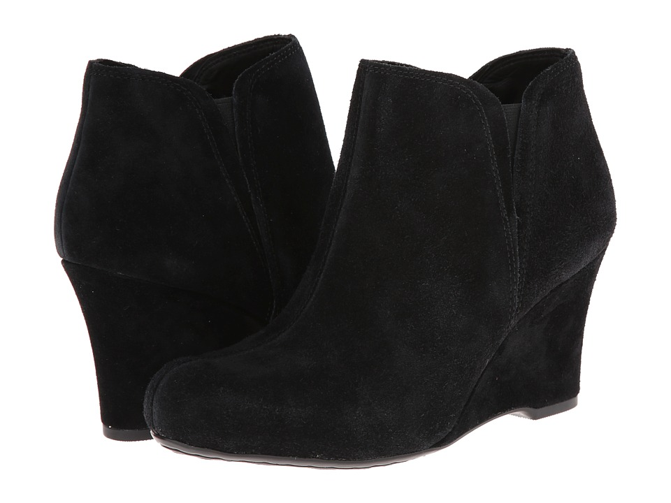 Born - Faylan - Crown Collection (Black Suede) Women