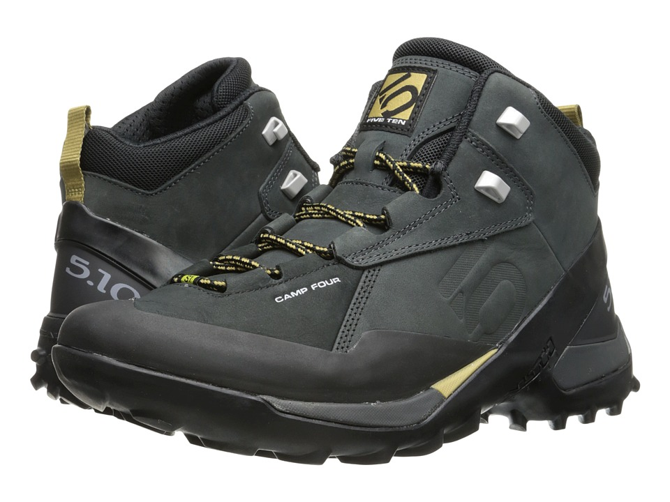 Five Ten - Camp Four Mid (Black/Solid Grey) Men's Shoes