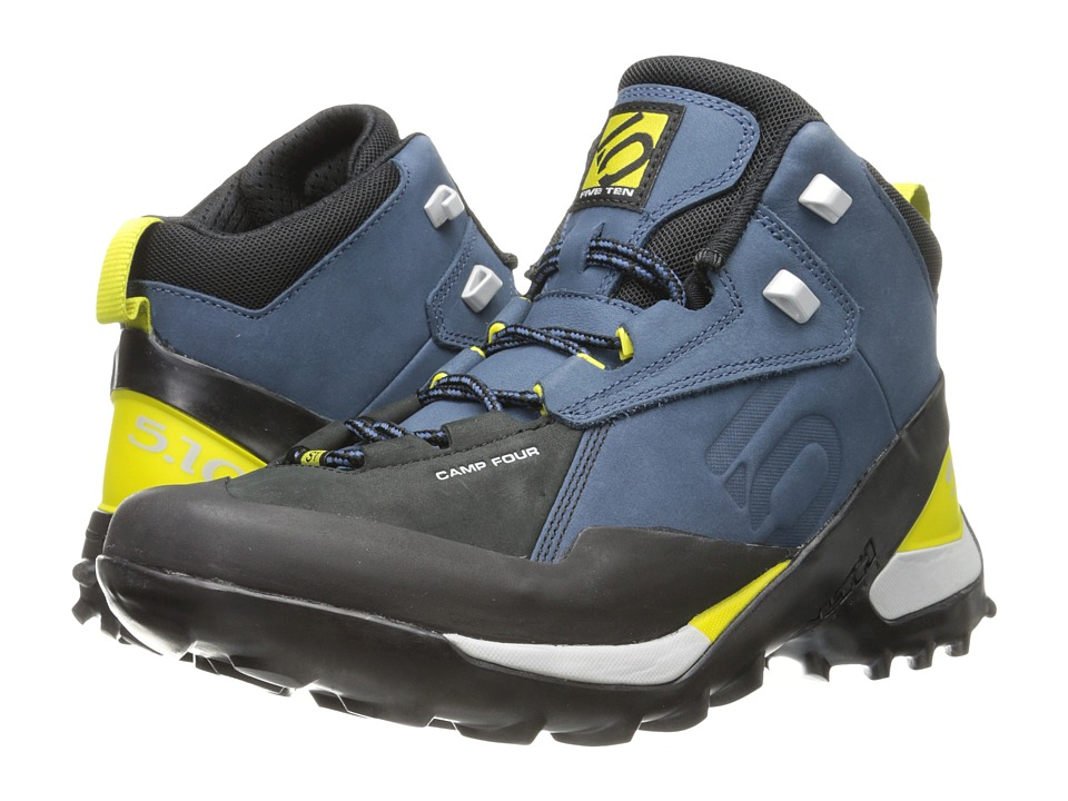 Five Ten - Camp Four Mid (Marine/Citron) Men's Shoes
