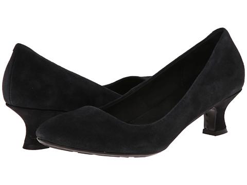 Born - Eloise - Crown Collection (Dark Grey Suede) Women's 1-2 inch heel Shoes
