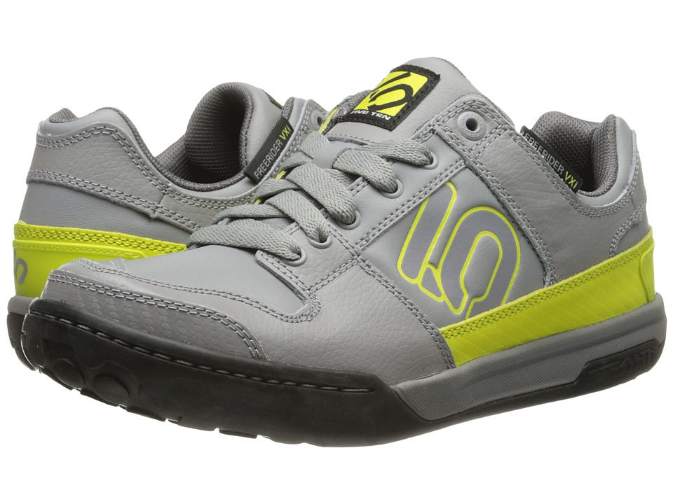 Five Ten - Freerider VXI Elements (Solid Grey/Lime Punch) Men's Shoes