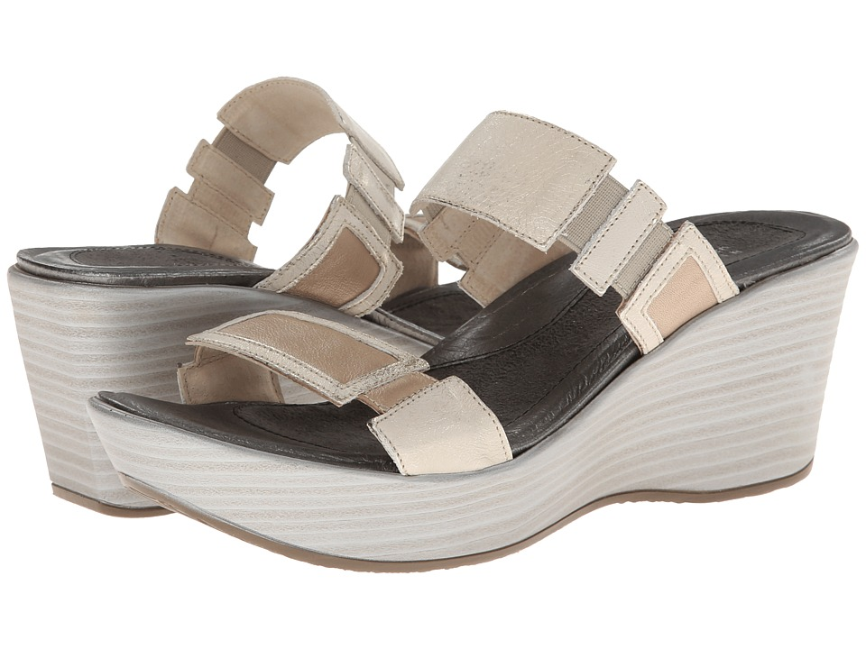 Naot Footwear - Treasure - Exclusive (Champagne Leather/Dusty Silver) Women