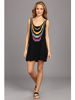 SALE! $120.99 - Save $75 on Nanette Lepore Zahia Intarsia Tank Dress (Black) Apparel - 38.27% OFF $196.00
