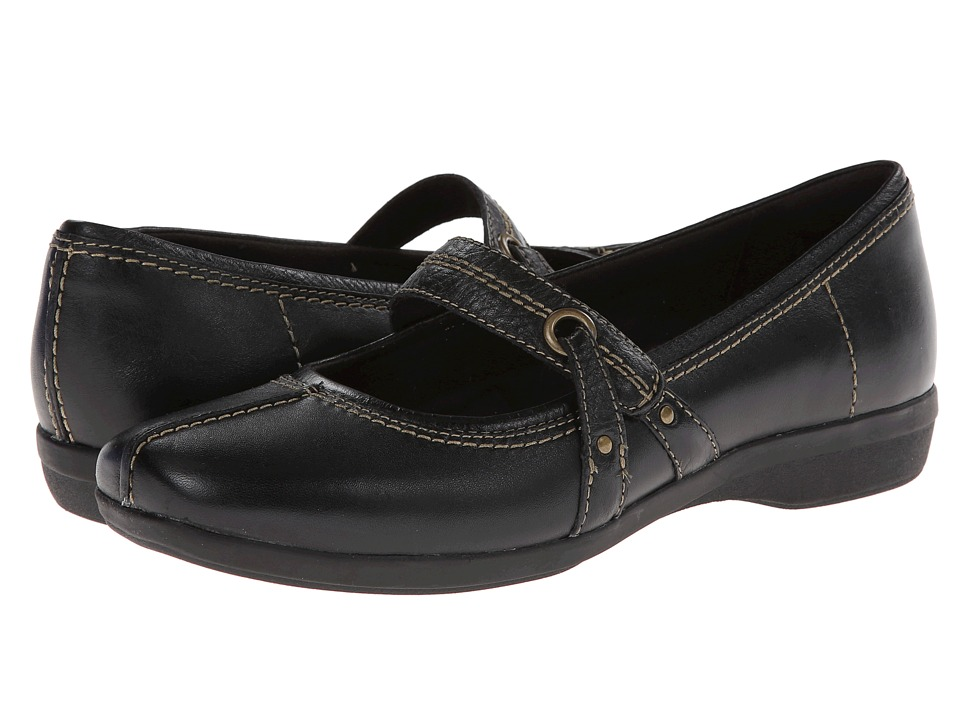 Clarks - Haydn Maize (Black Leather) Women