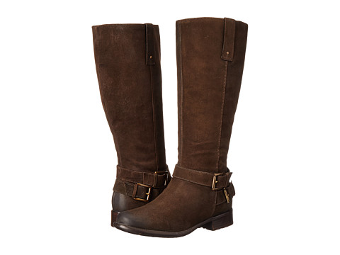 Clarks - Plaza Steer (Brown Leather) Women's Boots