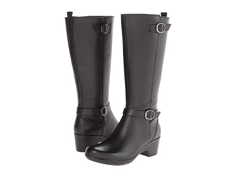 Clarks - Malia Poplar (Black Leather) Women's Boots