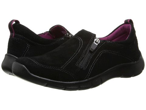 Clarks - Hedge Poole (Black Nubuck) Women's Shoes
