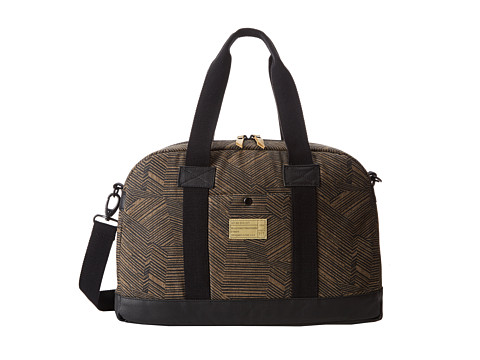 Hex - Laptop Duffel (Black/Brown) Computer Bags