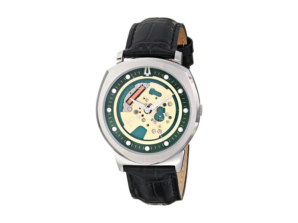 Bulova - Unisex Accutron II - 96A155 (Black Strap) Watches