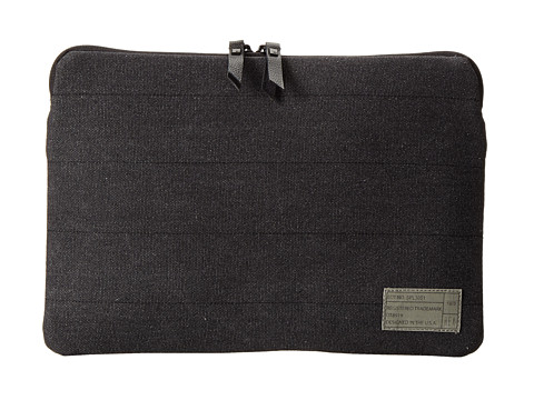 Hex - 11 Laptop Sleeve (Waxed Charcoal Canvas) Computer Bags