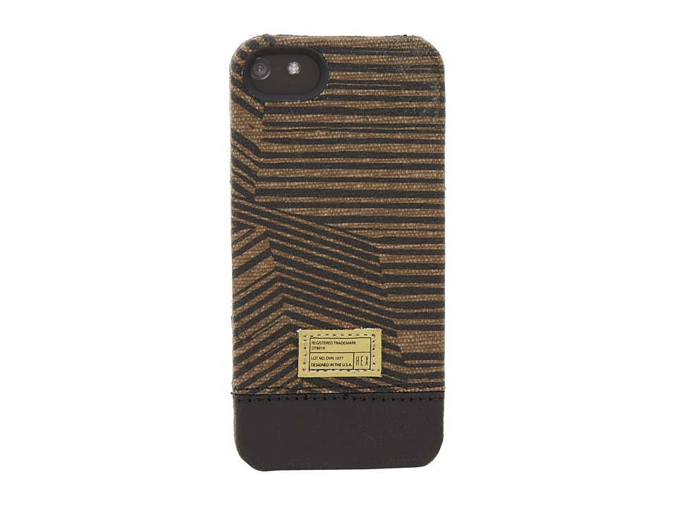Hex - Focus Case - iPhone 5 (Black/Brown) Cell Phone Case