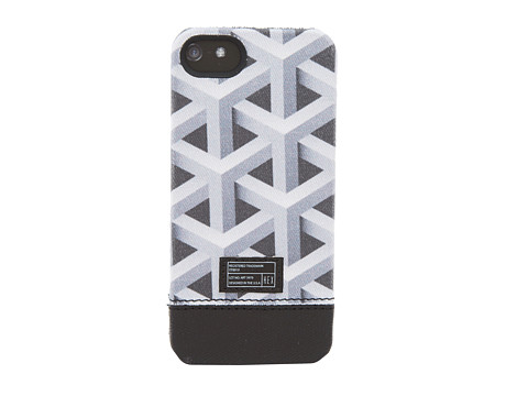 Hex - Focus Case - iPhone 5 (Black/White Geo) Cell Phone Case