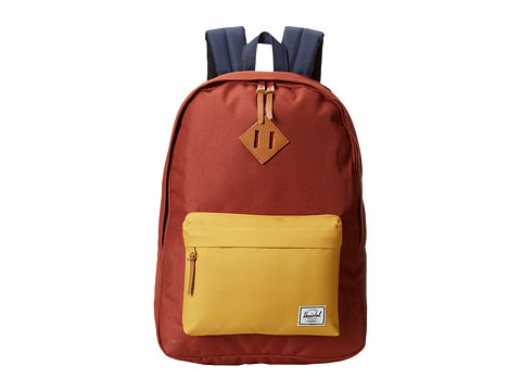 Herschel Supply Co. - Woodlands (Rust/Copper/Navy) Backpack Bags