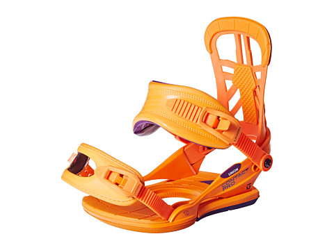 Union - Contact Pro '14 (Fluo Orange) Snowboards Sports Equipment