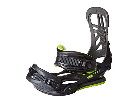 Union - Contact Pro '14 (Black) Snowboards Sports Equipment