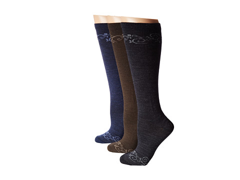 Keen - Kanga Lite Knee High 3-Pair Pack (Multi-Color) Women's Knee High Socks Shoes