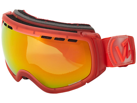 VonZipper - Feenom - N.L.S. (Brainblast Red/Lunar Chrome) Snow Goggles