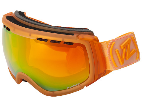 VonZipper - Feenom - N.L.S. (Brainblast Tangerine/Fire Chrome) Snow Goggles