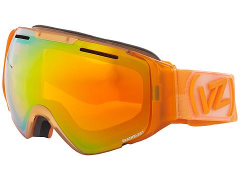 VonZipper - El Kabong (Brainblast Tangerine/Fire Chrome) Snow Goggles