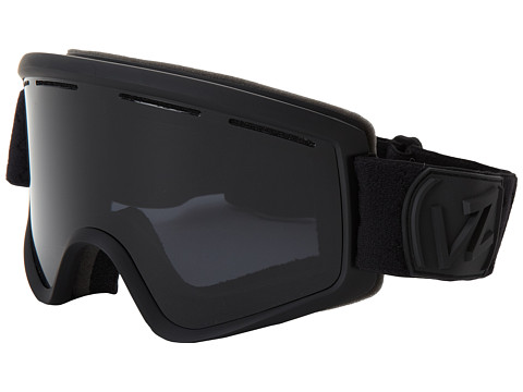 VonZipper - Cleaver (Black Satin/Blackout) Snow Goggles