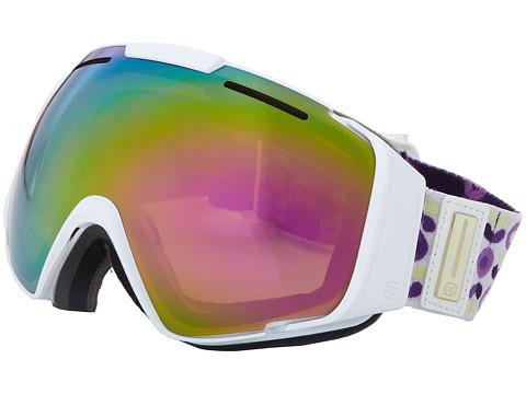 VonZipper - El Kabong (White Gloss/Bronze Pink Smoke) Snow Goggles