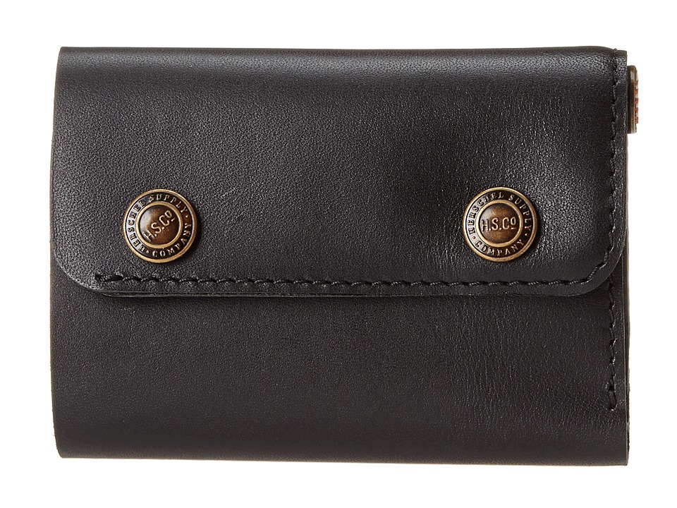 Herschel Supply Co. - Spencer (Leather Black) Wallet Handbags